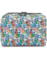 LeSportsac - Peanuts X Large Cosmetic Case - Lyst