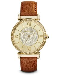 Michael Kors Caitlin Watch, 38Mm - Lyst