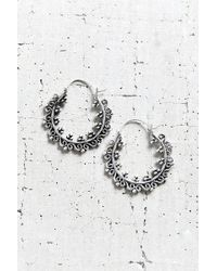 Urban Outfitters - East End Small Hoop Earring - Lyst