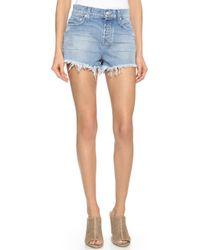 Ksubi Pretty Vegas Shorts - Hay Day Mayday blue - Lyst