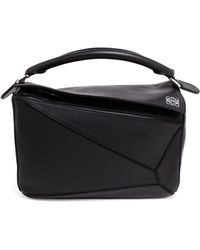 Loewe Calf Leather Puzzle Bag - Lyst