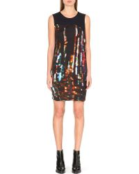 McQ by Alexander McQueen Abstract Print Jersey Dress - Lyst