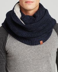 Bickley + Mitchell - Bickley + Mitchell Waffle Knit Infinity Scarf - Lyst