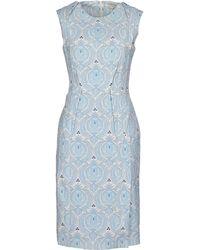 O'2nd Knee-Length Dress blue - Lyst