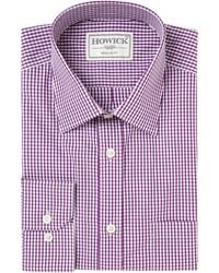 Howick Tailored Chamber Gingham Check Shirt with Pocket - Lyst