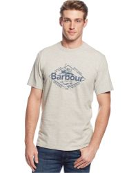 Barbour Harbour Crew-Neck T-Shirt - Lyst