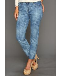 Levi's Mid Rise Ankle Skinny - Lyst