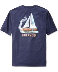 Tommy Bahama Puff Aweigh T-Shirt - Lyst