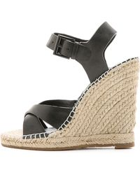 Joie Lena Espadrille Wedges - Nude - Lyst