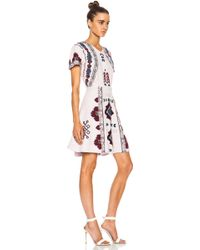 Elle Sasson Gemma Silk Dress - Lyst