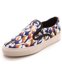 Mother Of Pearl Achilles Slip On Sneakers  Blue Tulip - Lyst