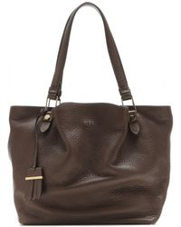 Tod's Shopping Zip Medium Leather Tote - Lyst