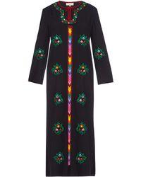 Muzungu Sisters - Jasmine Embroidered Cotton Dress - Lyst