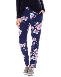 Joie Talina Floral Silk Trousers - Lyst