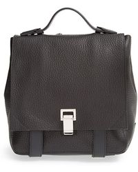 Proenza Schouler 'Small Ps Courier' Leather Backpack - Lyst