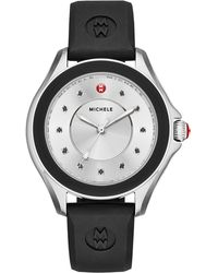 Michele - Cape Topaz Watch W/silicone Strap - Lyst