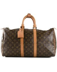Louis Vuitton Monogram 45 Keepall Bag - Lyst