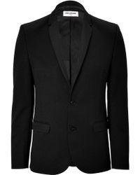 Zadig & Voltaire Wool-Blend Tuxedo Styled Blazer - Lyst