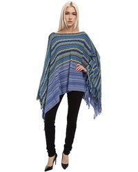 Missoni knitwear ponchos - Lyst