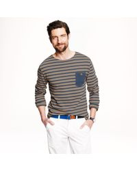 J.Crew Twothirds X Saint James Armorique Cotton Sweater - Lyst