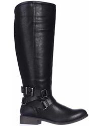 Madden Girl   Corprl Wide-calf Casual Boots   Lyst