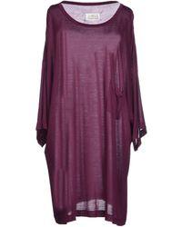 Maison Margiela Short Dress - Lyst
