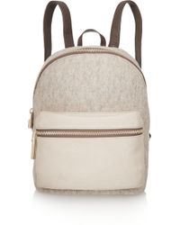 Elizabeth and James - Cynnie Wool, Suede And Leather Backpack - Lyst