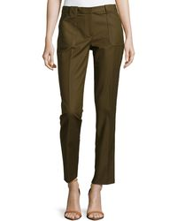 Michael Kors Samantha Utility Pants - Lyst