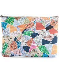 Carven - Collage Makeup Bag - Lyst