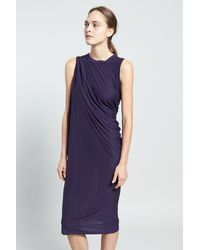 Acne High Long D Twist Dress - Lyst