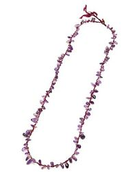 Nakamol - Stone Shards Necklace-amethyst - Lyst