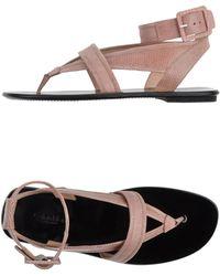 Calvin Klein Thong Sandal - Lyst