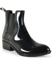 Jeffrey Campbell Stormy - Rain Bootie - Lyst
