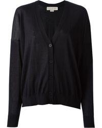 Stella McCartney Black Knit Cardigan - Lyst