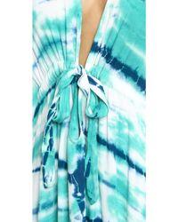 Young Fabulous & Broke - Julie Maxi Dress - Green/Navy - Lyst