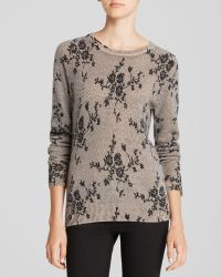 Equipment Sweater - Sloane Crewneck Floral Lace - Lyst