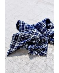 Urban Renewal - Flannel Plaid Neckerchief - Lyst