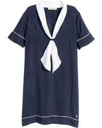 H&M Sailor Dress - Lyst