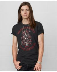 Denim & Supply Ralph Lauren Eagle-print Cotton Tee - Lyst