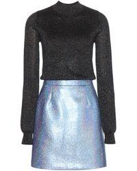 Victoria, Victoria Beckham Metallic Dress - Lyst
