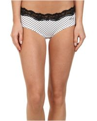 DKNY Downtown Cotton Hipster - Lyst