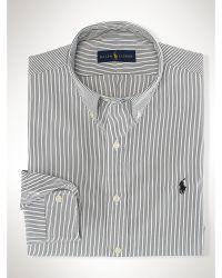 Polo Ralph Lauren Checked Cotton Poplin Shirt - Lyst