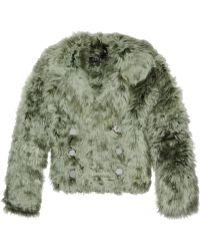Gucci Alpaca Jacket - Lyst