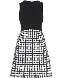 Issa Leigh Star-Jacquard Dress - Lyst