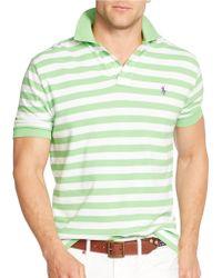 Polo Ralph Lauren Classic-Fit Striped Mesh Polo Shirt - Lyst