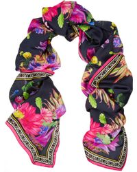 Matthew Williamson Cactus Garden Printed Silk Scarf - Lyst