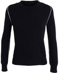 Chinti And Parker Seamed Cashmere Jumper - Lyst