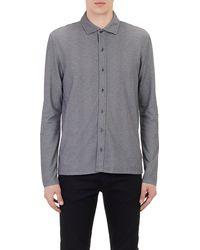 Michael Kors Pique Shirt - Lyst