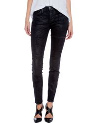 Current/Elliott The Ankle Skinny Jeans - Lyst