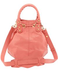 Balenciaga Giant 12 Golden Mini Pompon Bag Rose Azalee - Lyst